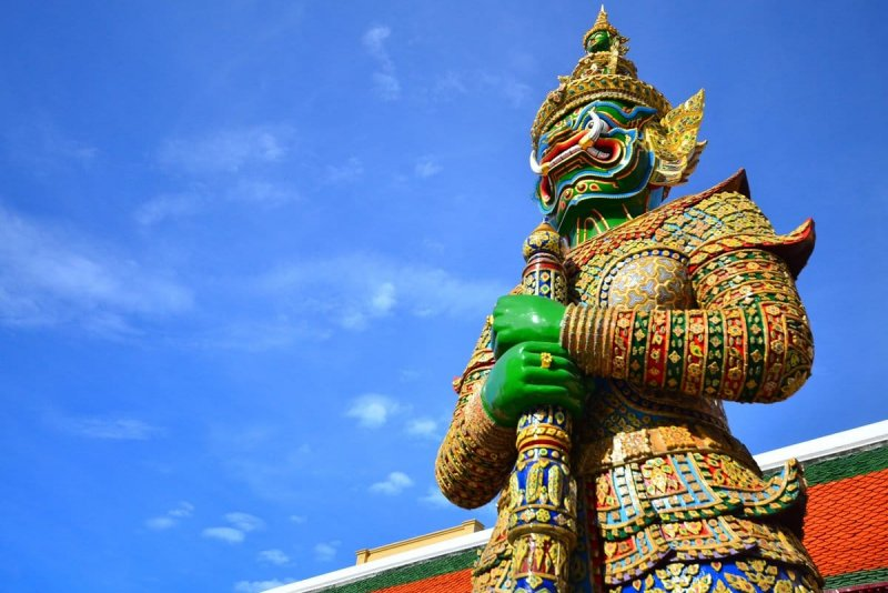 het bruisende bangkok