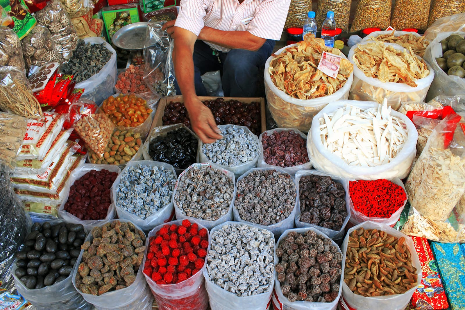 Chinatown voedselkraampje