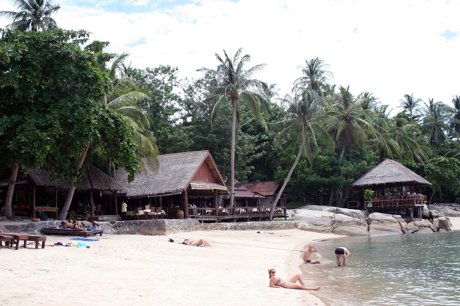 Het strand van Koh Tao