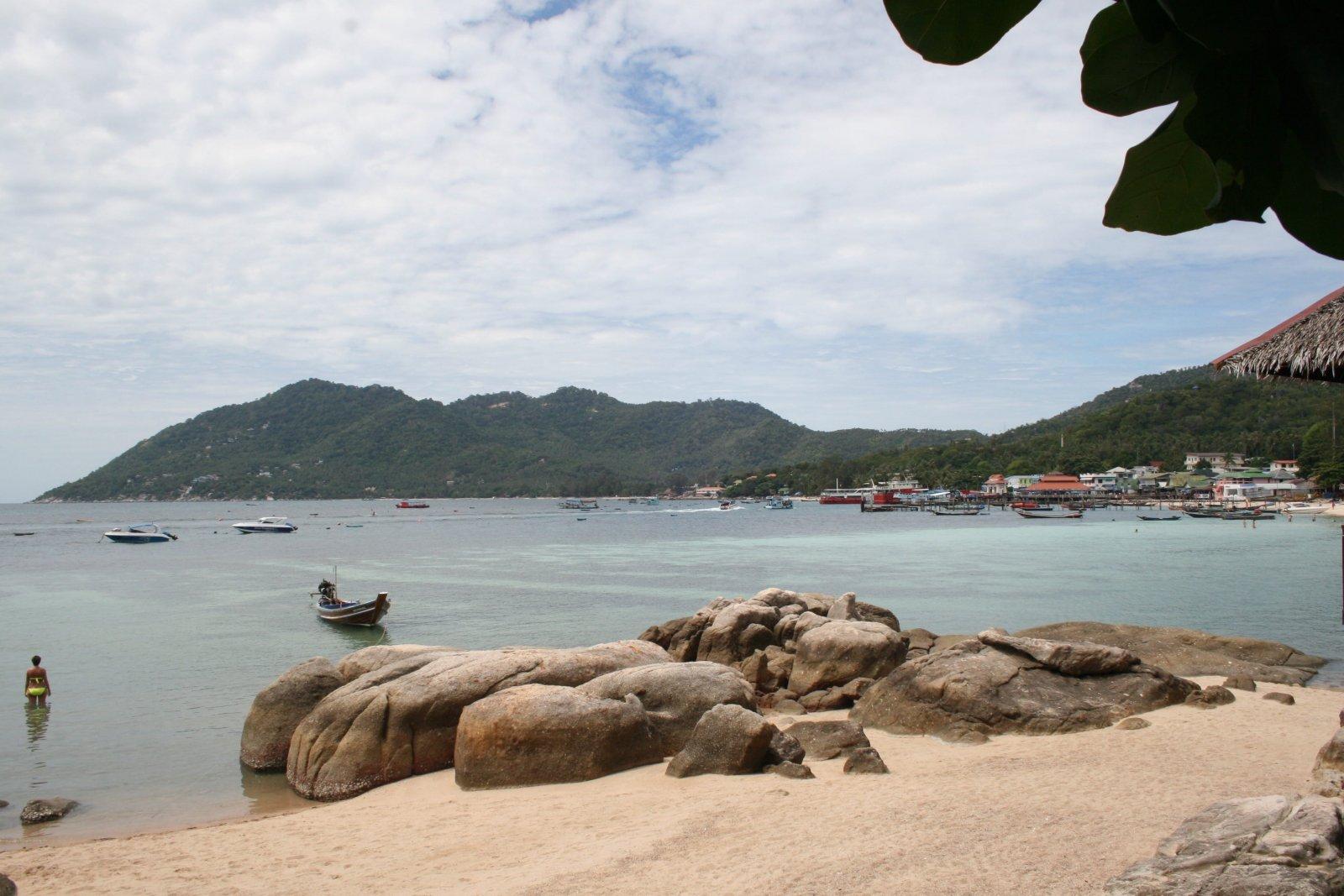 Een andere van Koh Tao van het strand