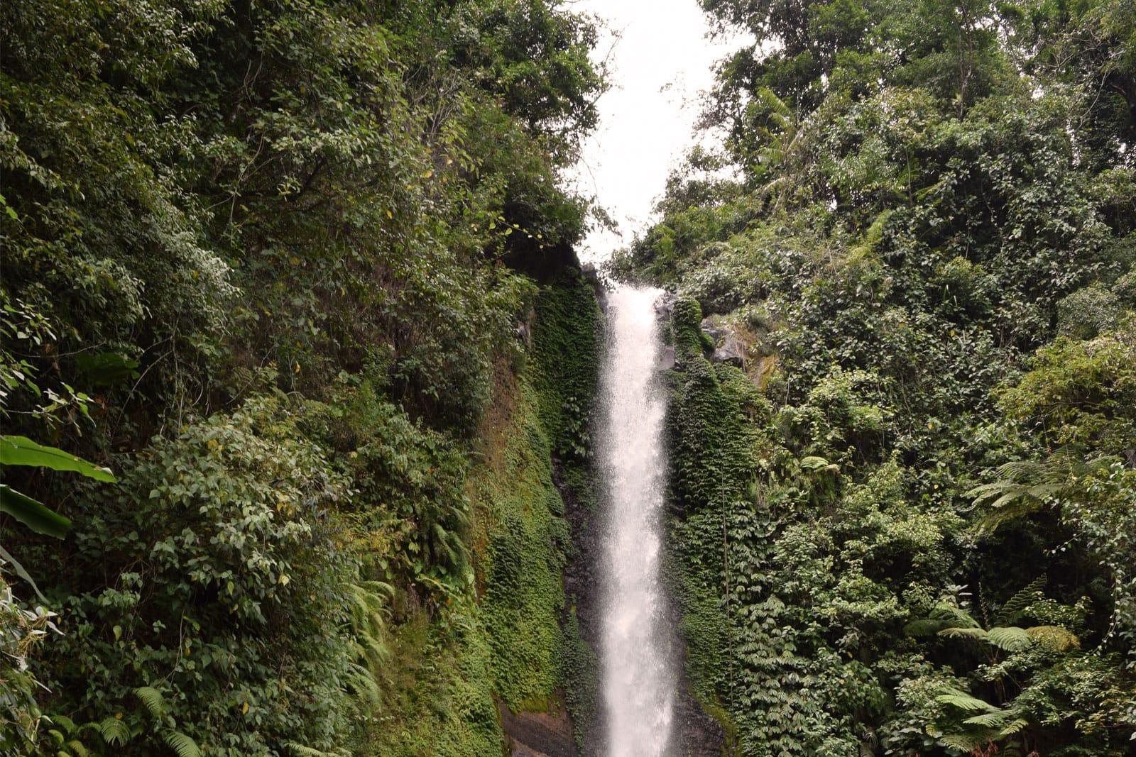 Gitgit waterval in Bali