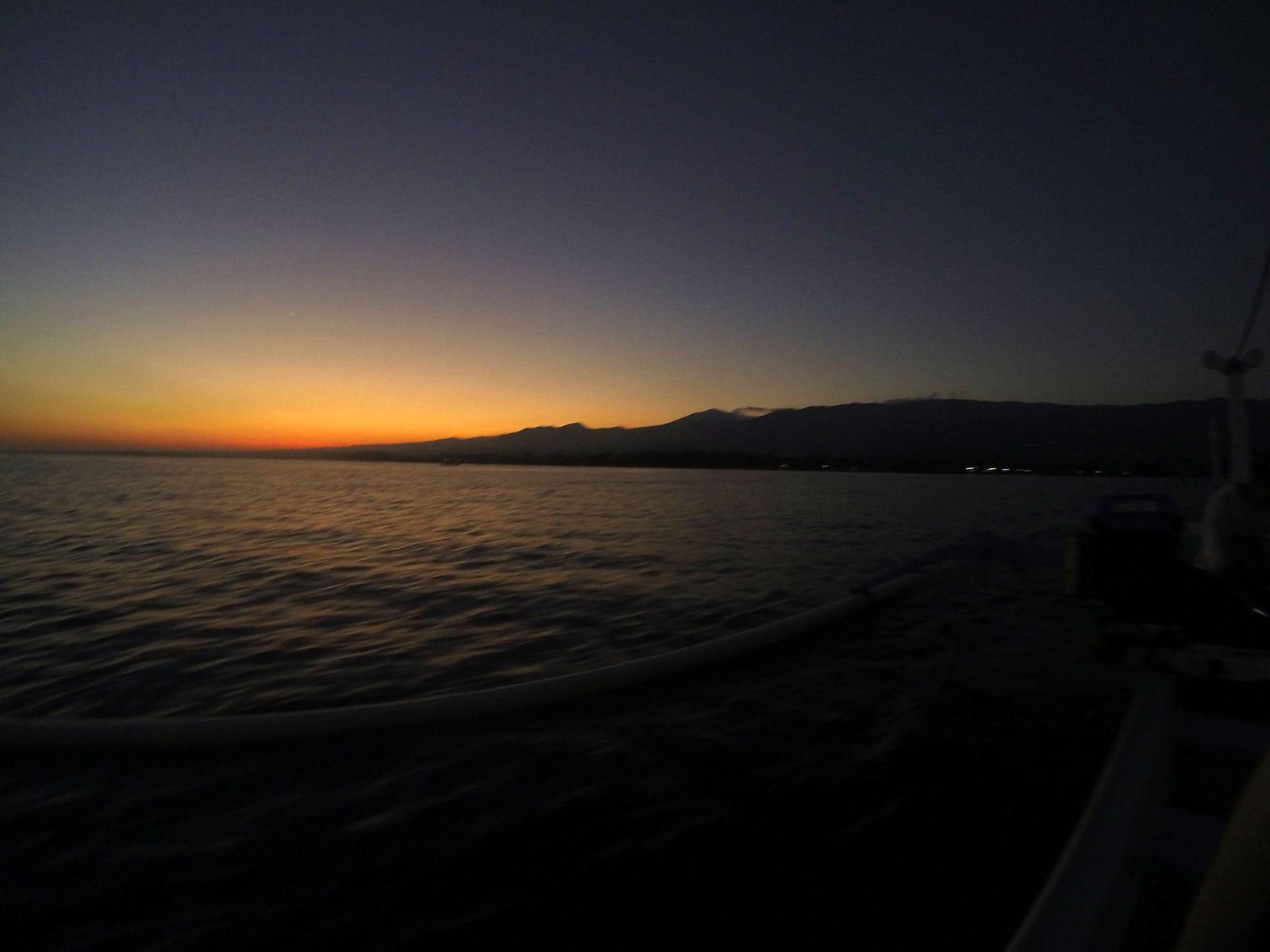 Onderweg voor het dolfijnen spotten in Lovina