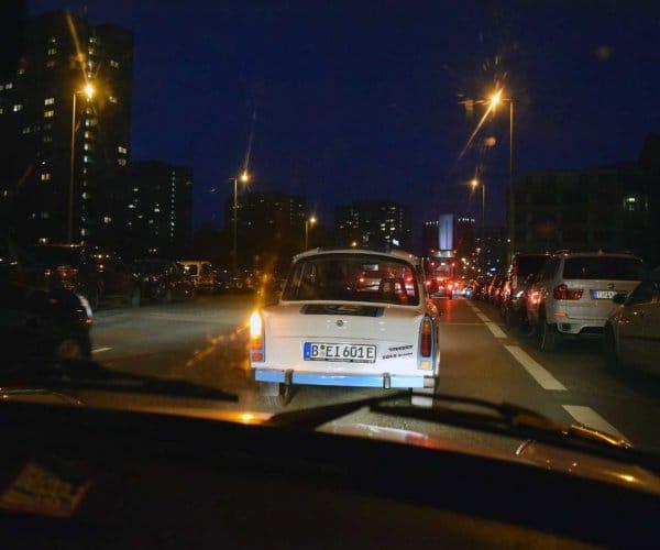 Berlijn ontdekken in een Trabant