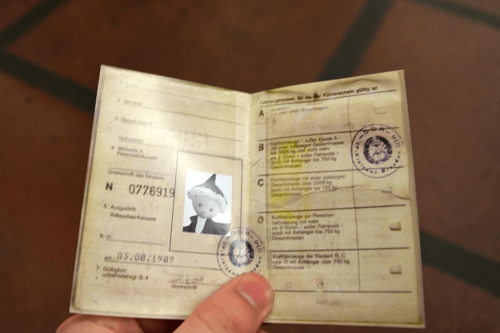 Trabi rijbewijs van Trabi World