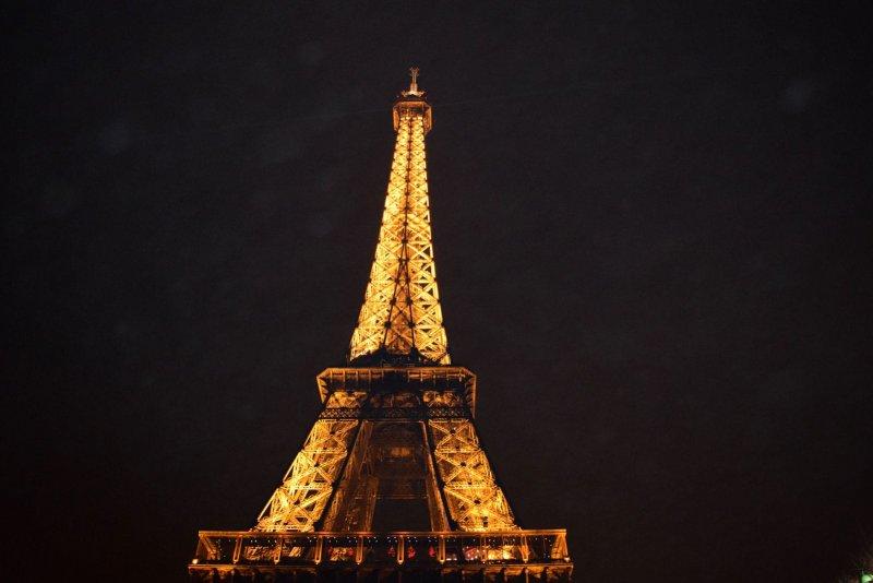 Het uitzicht van de Eiffeltoren