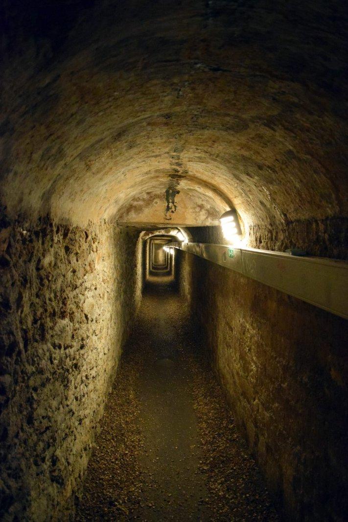 De gang van de Catacomben