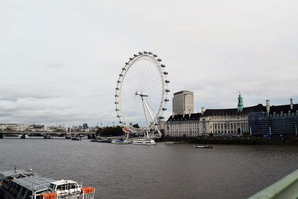 Londen Eye - bezienswaardigheid stedentrip Londen