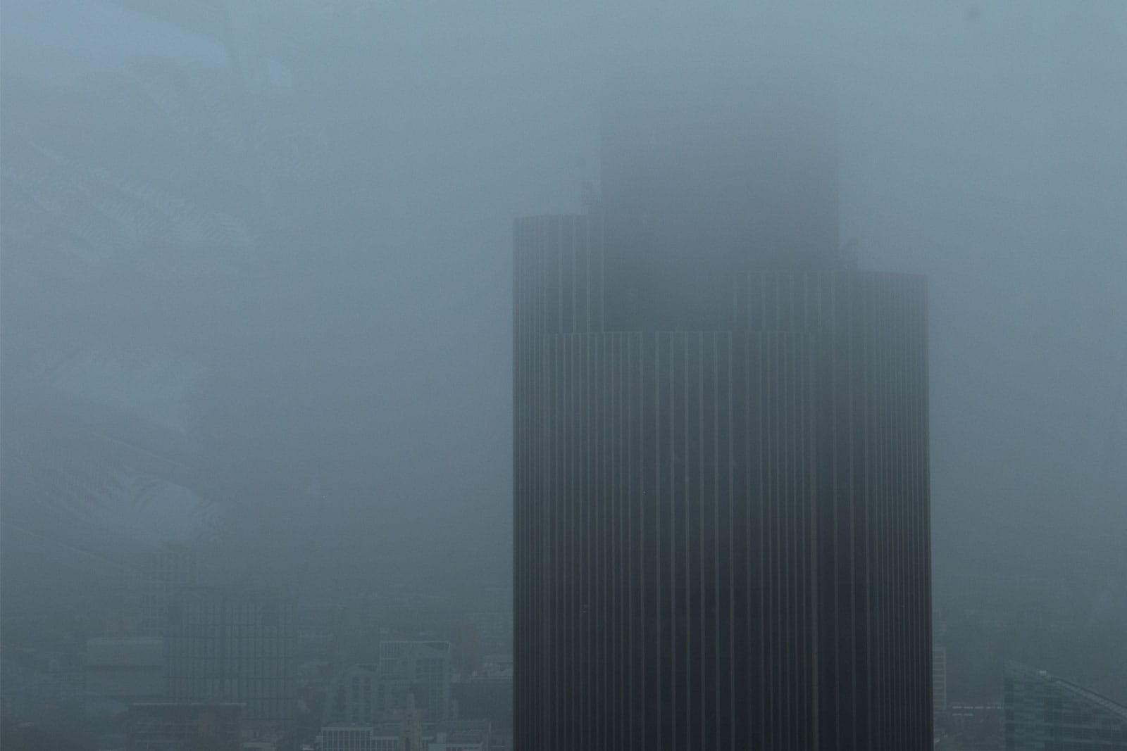 De mist in Londen