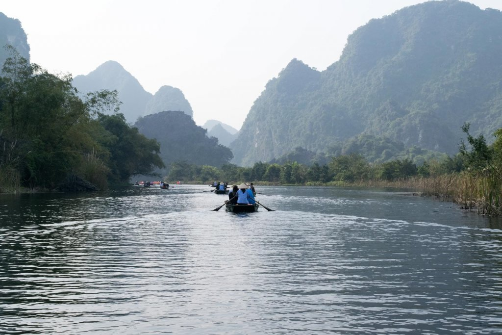 Backpack route Vietnam - Hanoi