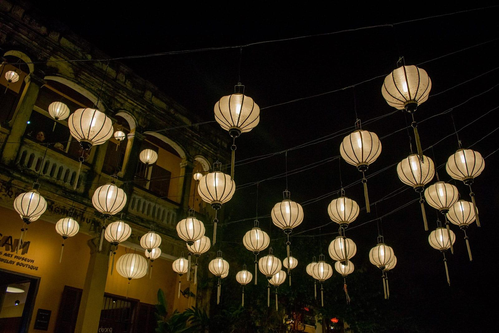 De lampionen van Hoi An