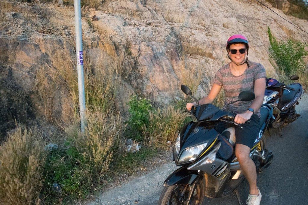 Brommer rijden Vietnam - Phu Quoc