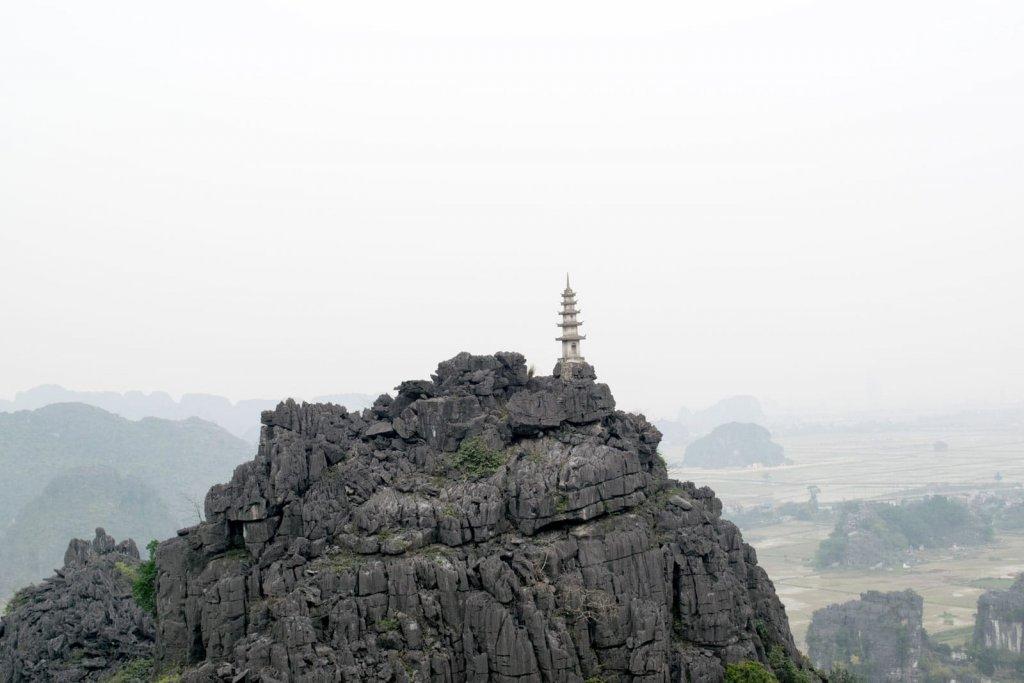 Ninh Binh - Uitzcht over Tam Coc