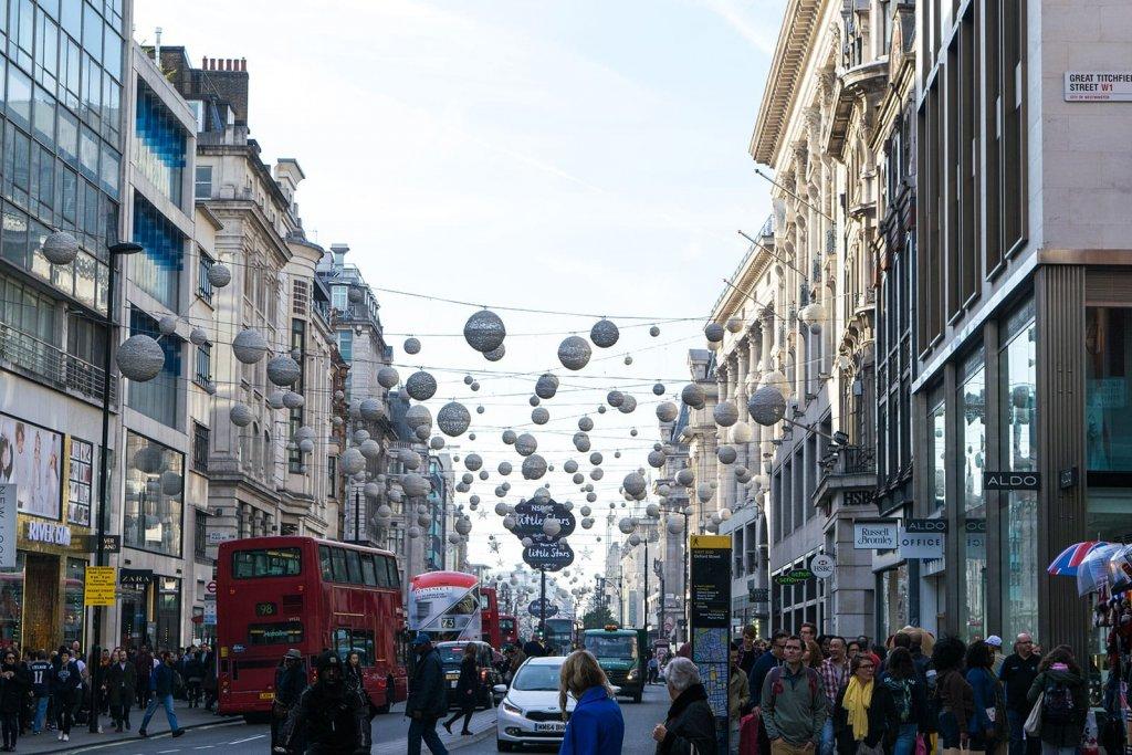 Stedentrip Londen - Oxford street