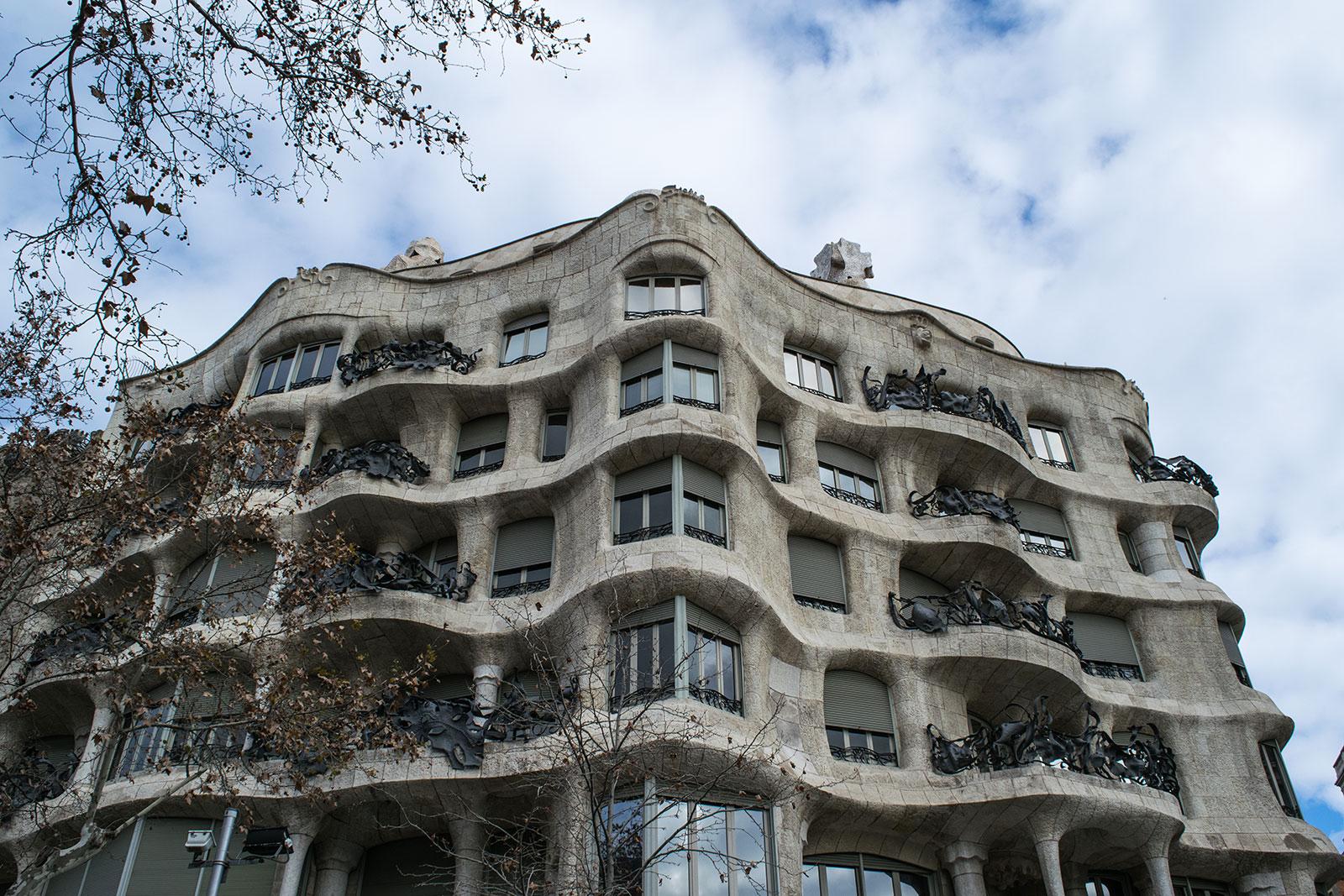 Bezienswaardigheden van Barcelona - Casa Mila