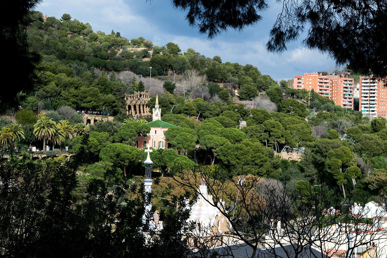 Bezienswaardigheden van Barcelona - Park Guell