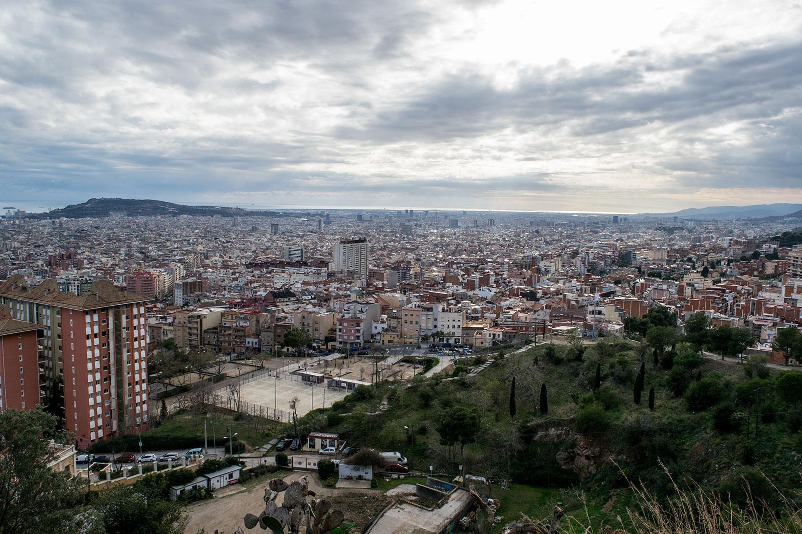 alternatieve activiteiten in Barcelona | Uitzicht bunkers