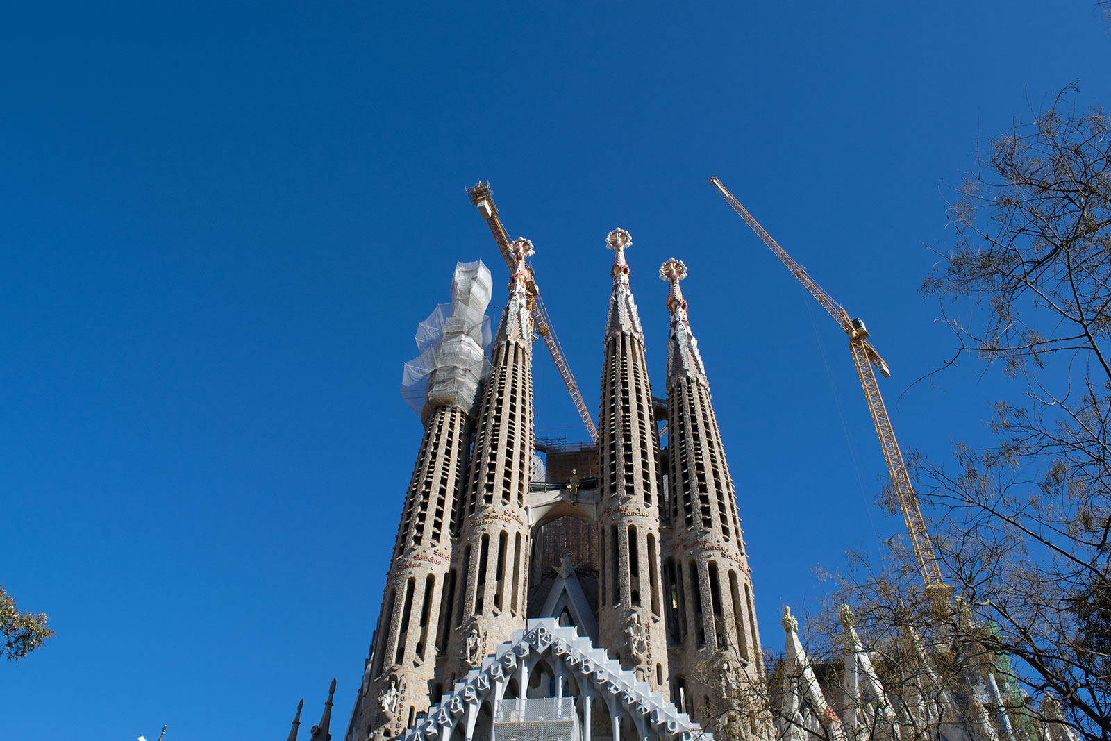 Bezienswaardigheden van Barcelona - Sagrada Familia