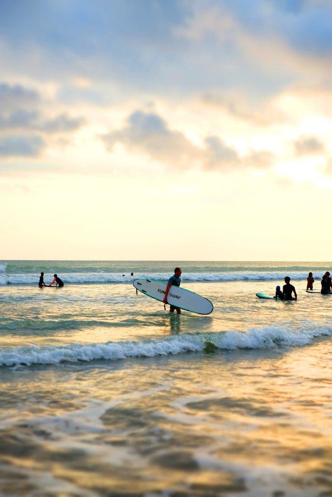 Canggu Surfen Bali