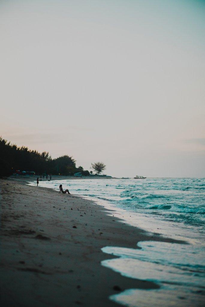 Gili Eilanden - strand
