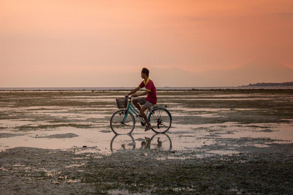 Gili Eilanden - fiets