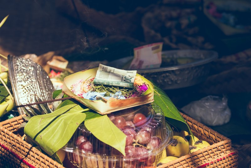 Geld in Bali