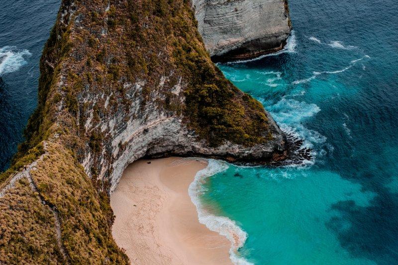 Waar ligt Bali op de kaart