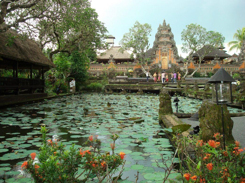 Pura Taman Seraswati tempel op Bali