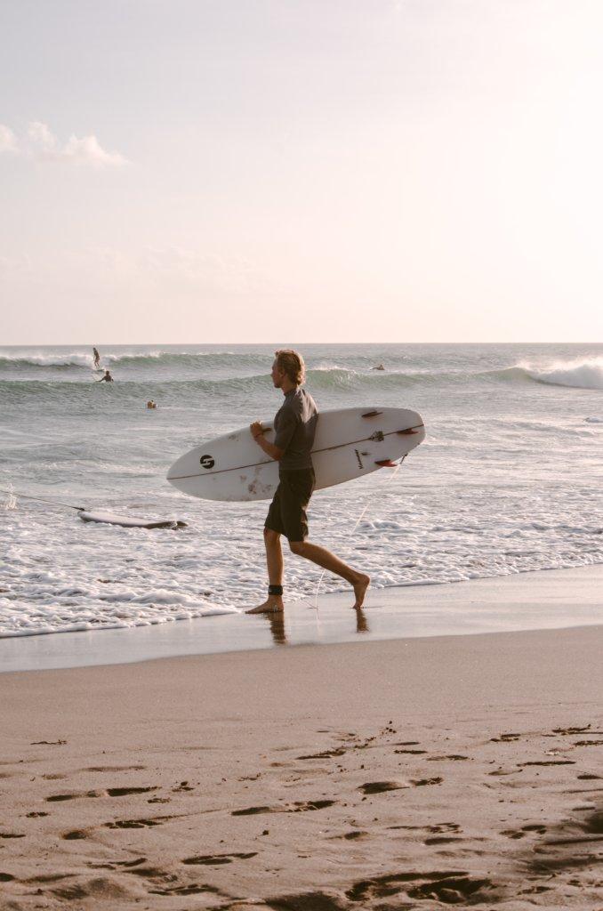 Surflocaties van Bali