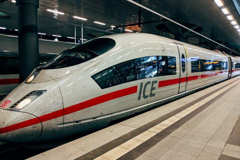 Met de trein reizen naar Berlijn