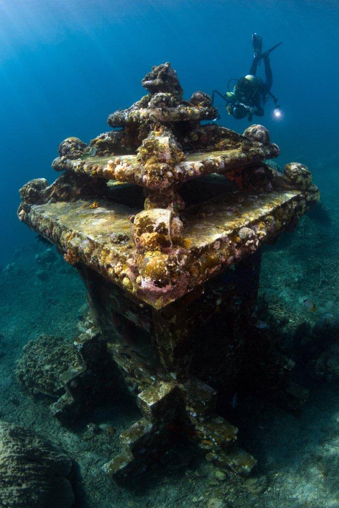 Amed duikspot van Bali