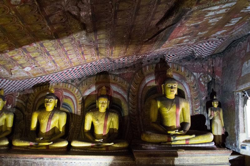 Dambulla Sri Lanka: de uitval basis van de culturele driehoek