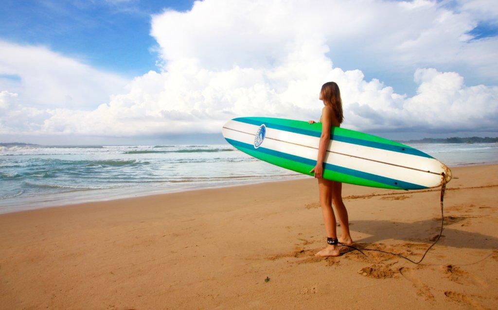 Surfplank Weligama