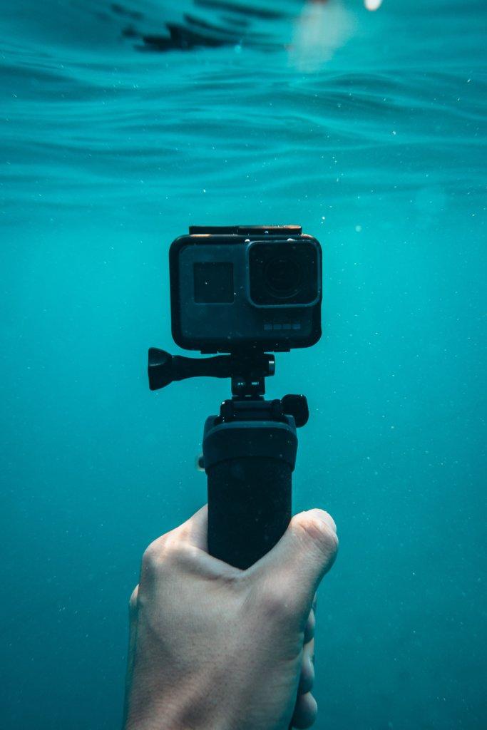 Gopro onderwater