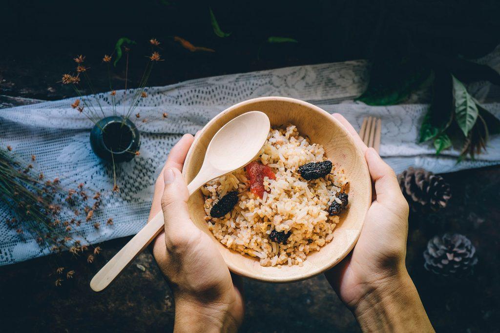 De heerlijke rijst