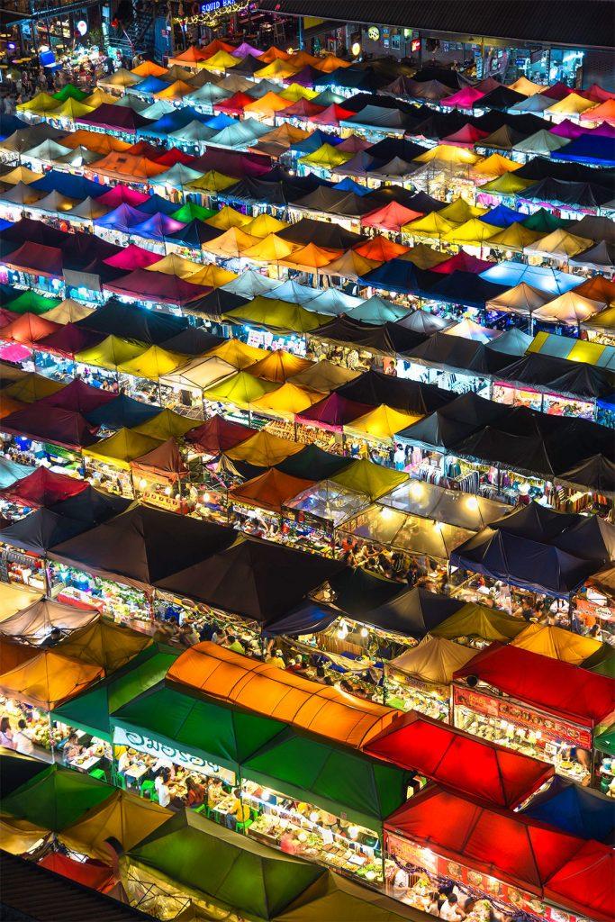 Streetfood markten in Thailand