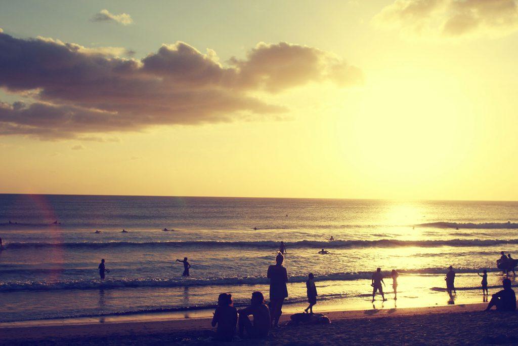 Strand van Kuta