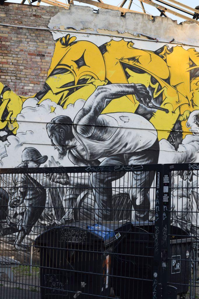 RAW-Gelände Street art